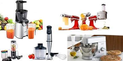 Кухненски роботи, Миксери, Сокоизстисквачки